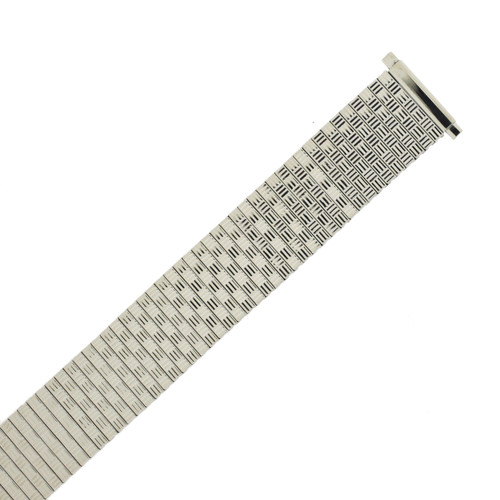 Watch Band Expansion Metal Stretch Silver Color TSMET180 18mm-20mm