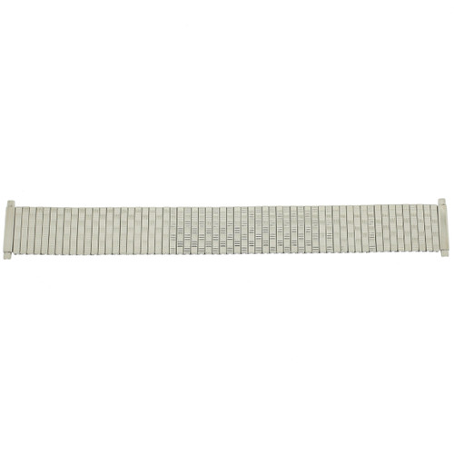 Watch Band Expansion Metal Stretch Silver Color TSMET180 18mm-20mm - Main