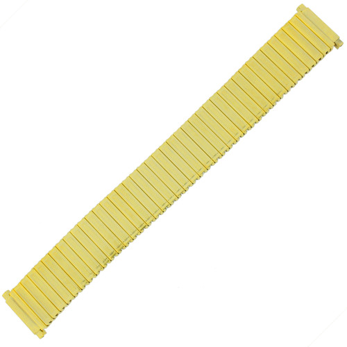 Watch Band Expansion Stretch Gold-Tone Mens 17-21 millimeter TSMET184