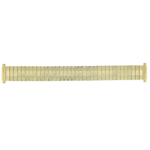 Watch Band Expansion Stretch Metal Gold-tone 16-20 mm - Main