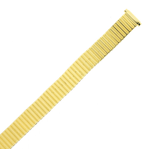 Watch Band Ladies Expansion Metal Stretch Gold-tone  - TSMET198