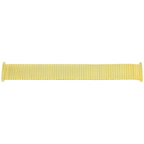 Watch Band Expansion Metal Stretch Gold-Tone fits 17-21mm TSMET200 - Main