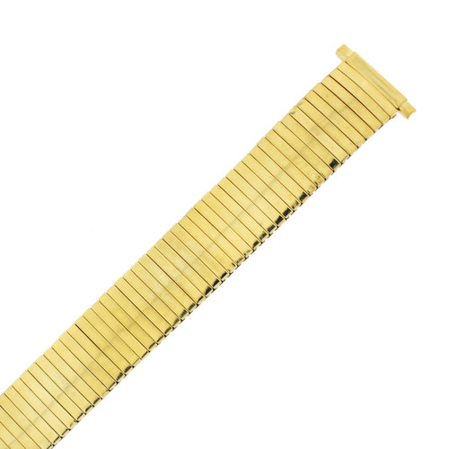 Watch Band Expansion Metal Stretch Gold Plated Thin line TSMET206