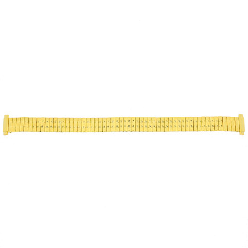 Watch Band Ladies Expansion Metal Stretch Gold-tone 12-14 mm - Main