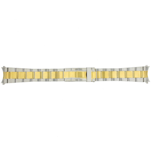 Watch Band Oyster Style 2-Tone Stainless Steel 20mm - Main