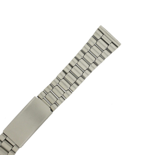 Watch Band Metal Matte Finish Stainless Steel 18mm (TSMET236-18)
