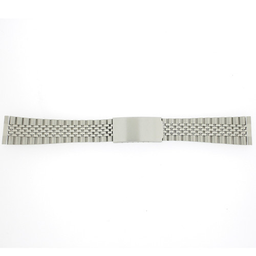 Watch Band Jubilee Style Stainless Link w. Straight Ends - Main