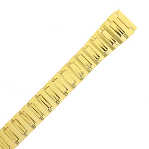 Watch Band Expansion Metal Stretch Gold-Tone 18mm - TSMET304