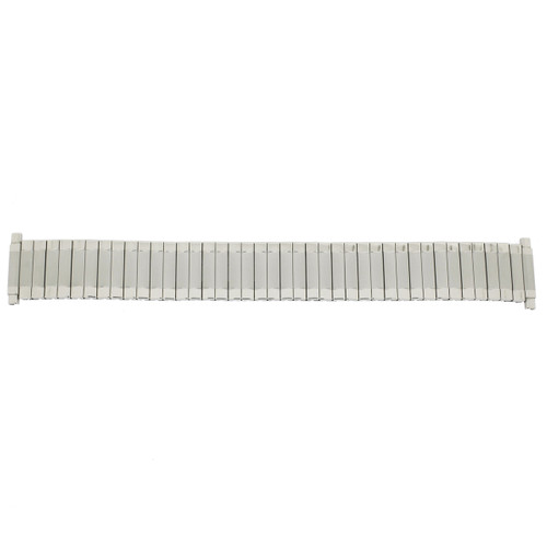 Watch Band Expansion Metal Stretch Silver-Tone 17mm- 22mm - Main