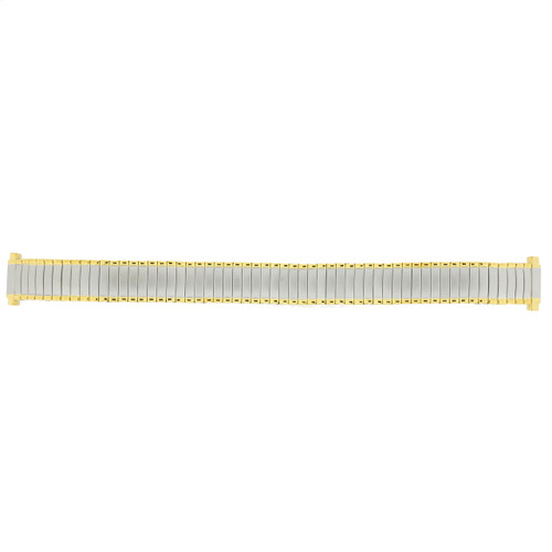 Watch Band Expansion Metal Ladies Band Two Tone 12mm-14mm - Main  - Main