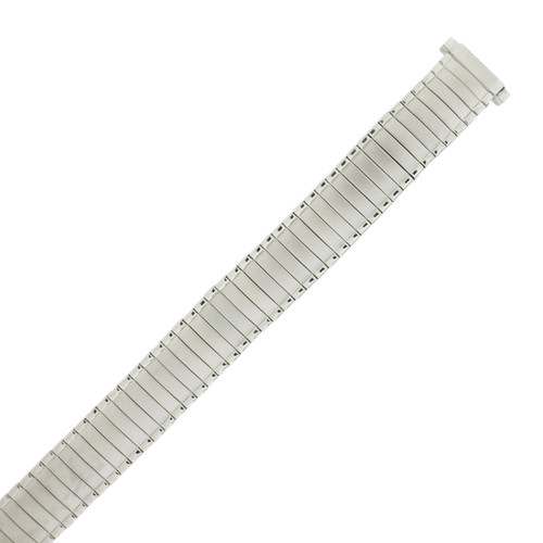 Silver Metal Expansion Watch Band 12mm to 14 mm by Tech Swiss