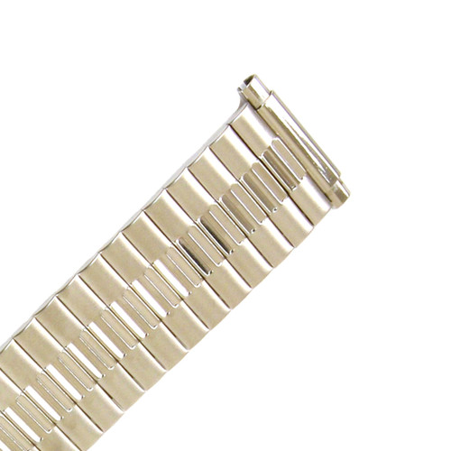 Watch Band Expansion Metal Stretch Silver Color fits 16mm to 21mm