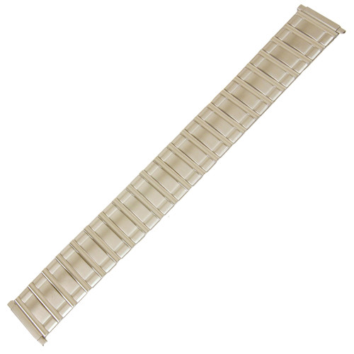 Watch Band Expansion Metal Stretch Silver Colorin sizes 16mm to 21mm - Main