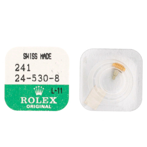 Original Rolex Crown 24-530-8 | Watch Material | Genuine Repair Parts