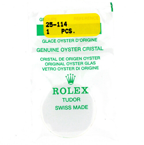 Original Rolex Crystal 25-114