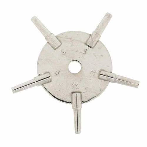 Table Clock Key 5 Prong - UNIKEYTAB