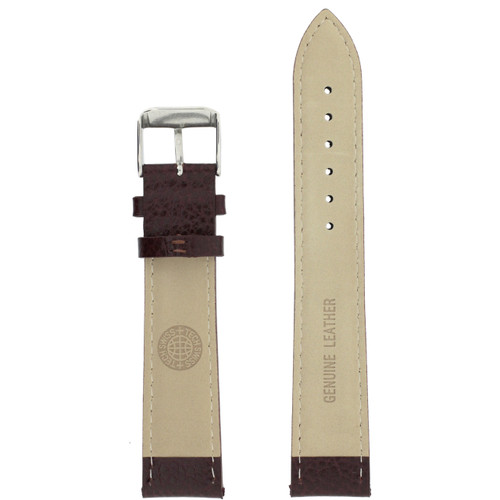 Inside Brown Watch Strap Mens LEA1690
