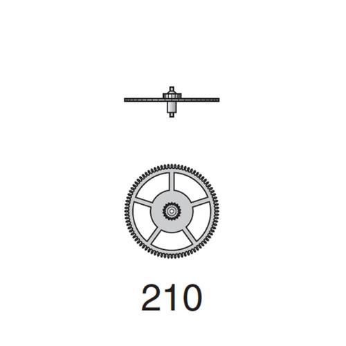 Valjoux 7750 Third Wheel
