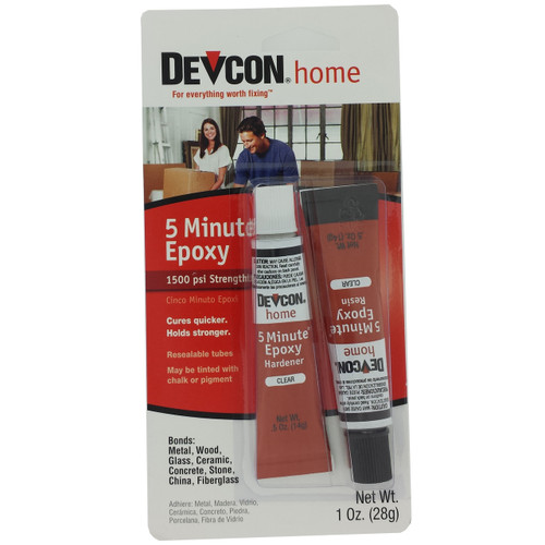 Devcon 20545 5 Minute Epoxy Glue 1 Ounce