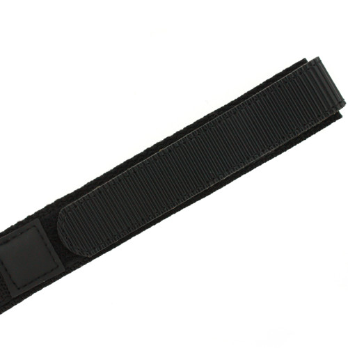 Velcro Black Watch Strap