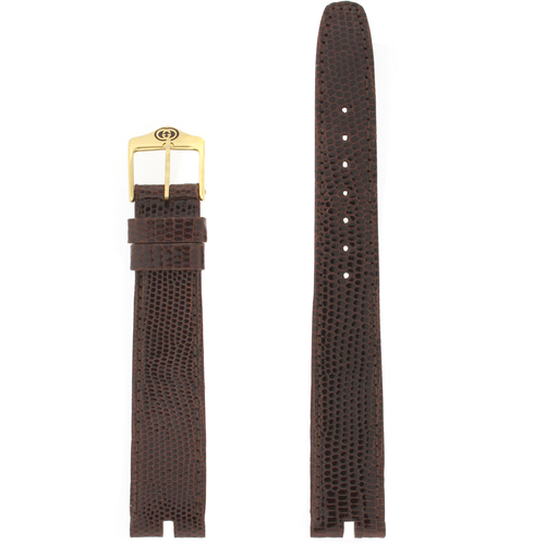 Gucci Watch Band 18mm Brown models 3400M 2500M