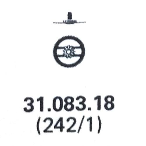 ETa 959.001 hour wheel