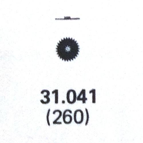 ETA 959.001 minute wheel