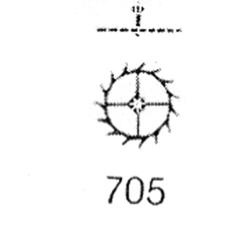 ETA 2390 escape wheel