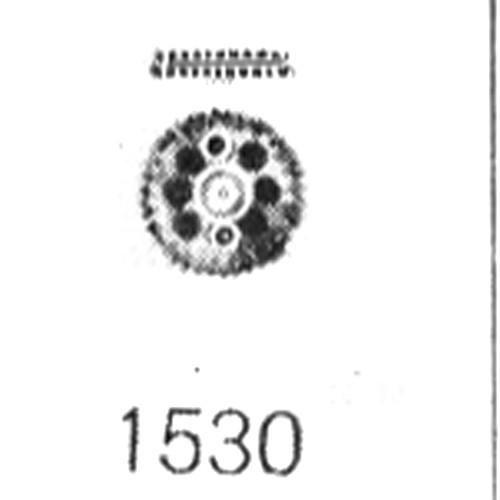 ETA 2450 double wheel
