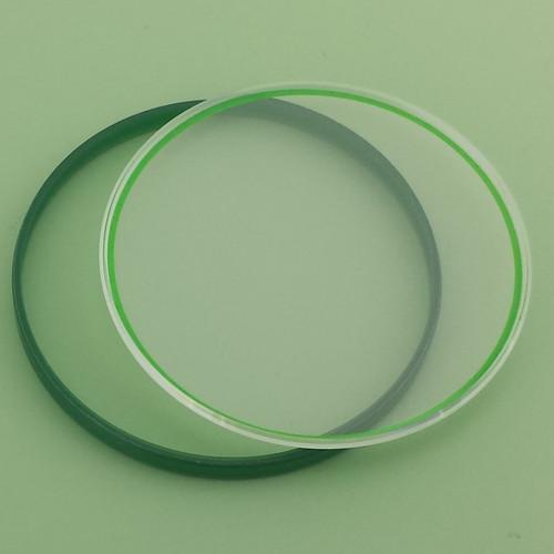 rolex Sapphire milgauss crystal green