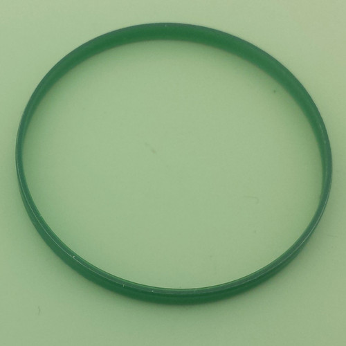Green Crystal gasket fits Rolex MILGAUSS Watch 116400 , 116400GV