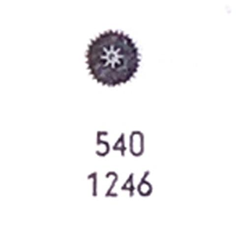 Omega minute wheel 540
