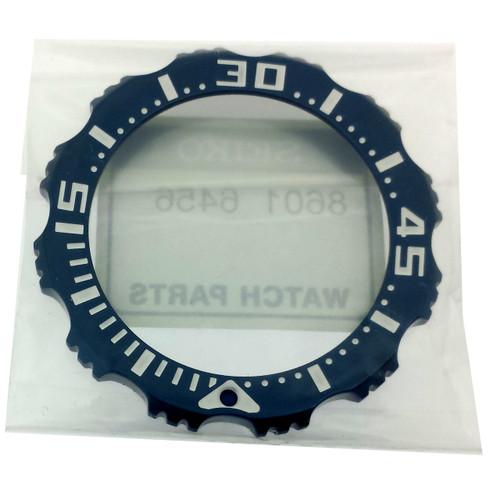 Seiko Tuna Prospex Rotating Blue Bezel SRP653 SRP655