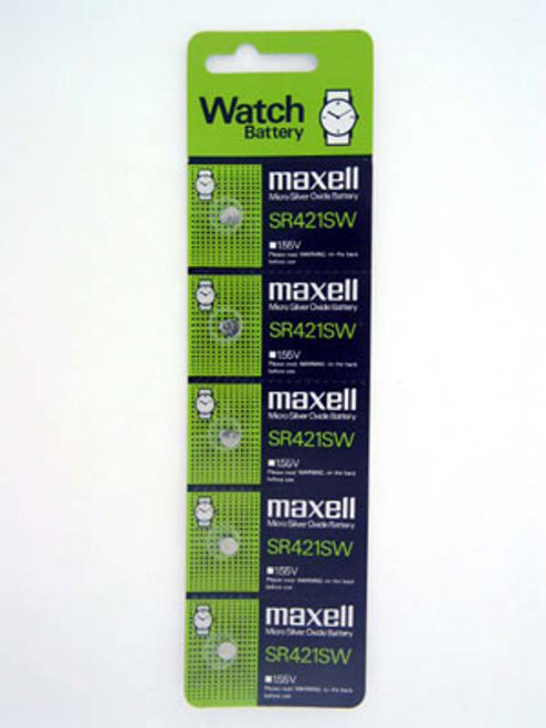 Maxell 348 Watch Battery SR421SW - Main