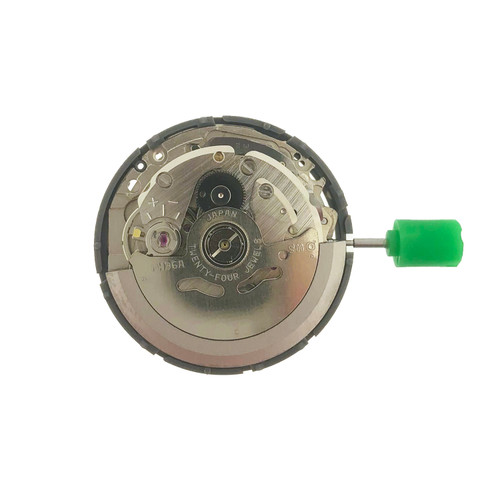 Japan Mechanical NH36 White Disk movement Replacement for Seiko 4R36  Day date