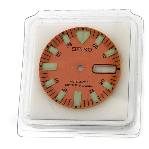 Orange Dial  SKX781 Seiko Monster Diver Green Luminous