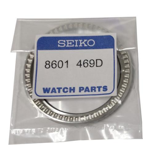 Seiko Bezel Black Silver Diver SKX173 SKX009 SKX007 8601 469D
