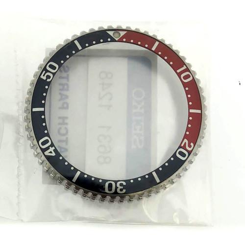 Pepsi Bezel For Diver SHC033 SHC021 7N36 7A08 7A09 7A0B 7A19 SEC001 Front