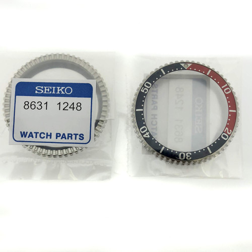 Pepsi Bezel For Diver SHC033 SHC021 7N36 7A08 7A09 7A0B 7A19 SEC001 Back