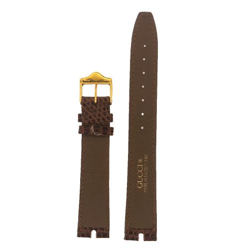 Gucci Watch Band 16mm Honey Brown Cut model 2000M