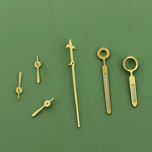 Valjoux 7750 set of Gold Hands