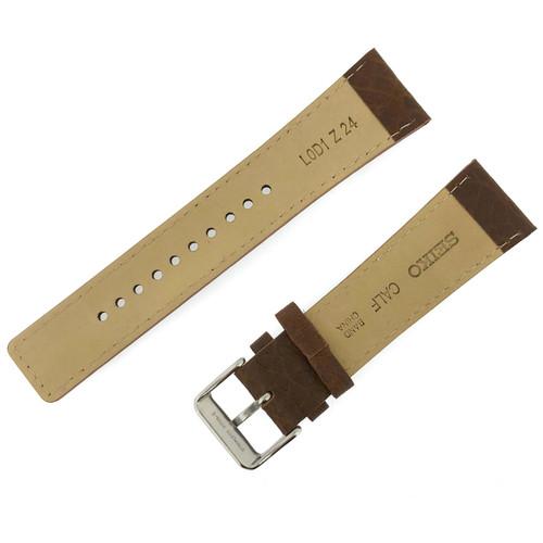 Seiko Leather Strap 24mm