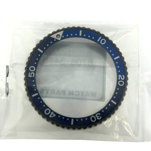 SRPC91P Seiko Bezel Black Blue
