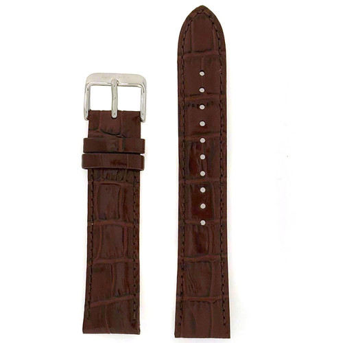 Seiko black  leather Strap 20mm