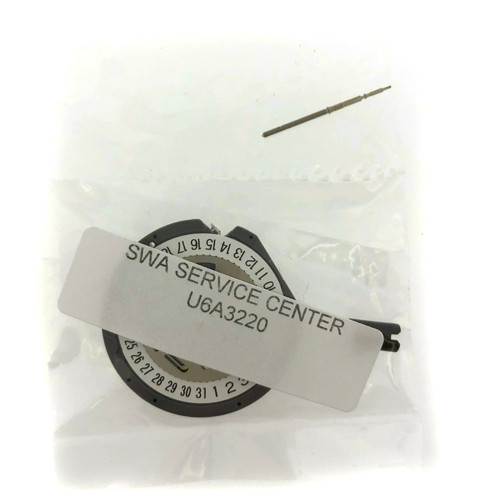 SEIKO 6A32 Perpetual Quartz Watch Movement Date at 6