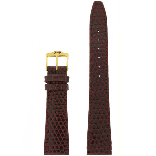 Gucci 17mm Burgundy watch strap