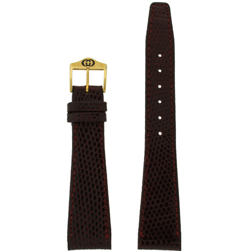 Gucci 4200M watch band burgundy