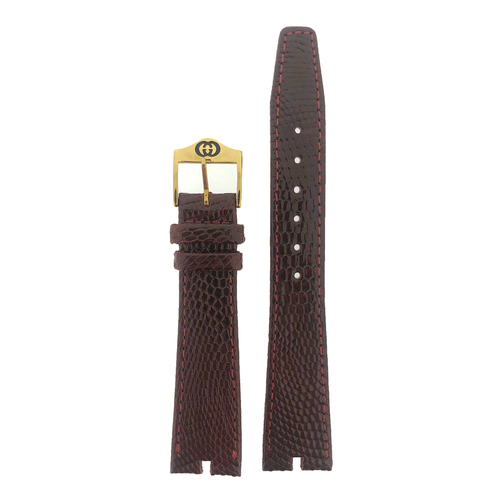 Gucci 3400M 2500M watch band burgundy