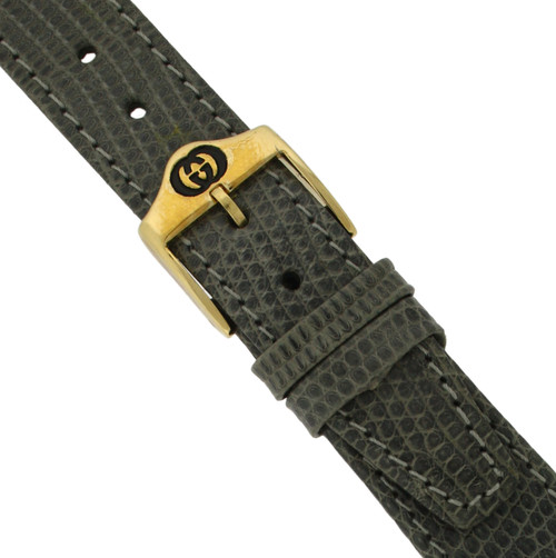 Gucci Watch Band 18mm Model 4500M Grey