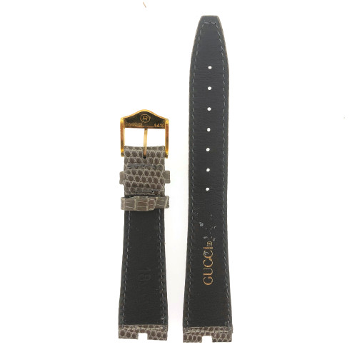Gucci watch band grey